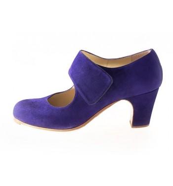 Zapato flamenco velcro