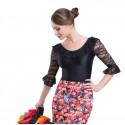 Maillot flamenco encaje