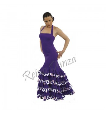 E4393 Vestido flamenco