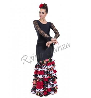 Falda flamenca 11 volantes