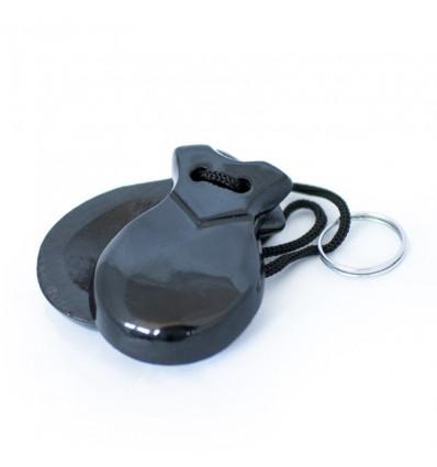 Llavero Castañuela Negro