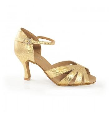 Sandali oro serpiente baile...