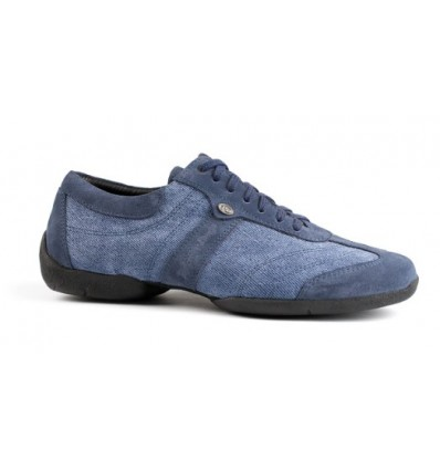 Zapato de baile pietro street azul