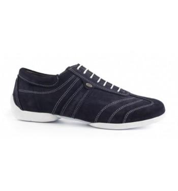 Zapato de baile pietro street azul marino