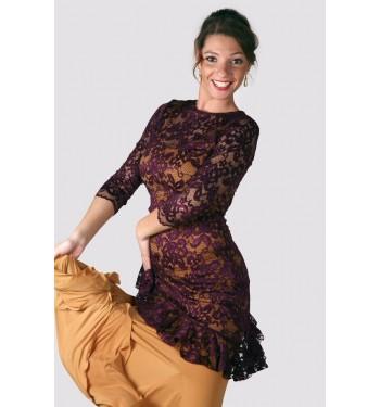 Cuerpo flamenco de blonda
