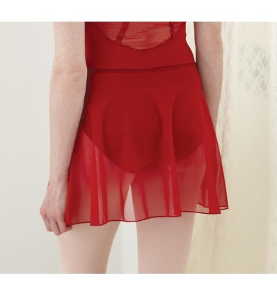 Falda de gasa ballet