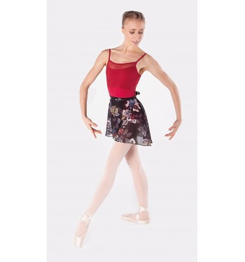 Falda ballet floral