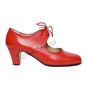 Zapato flamenco de cordones