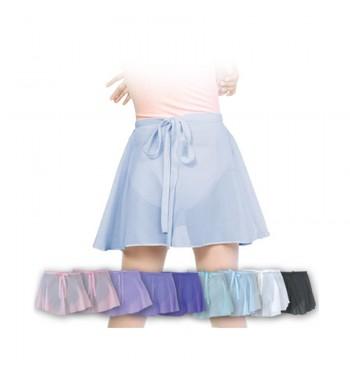 Falda gasa básica niña