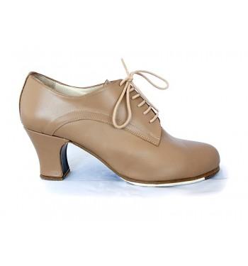 Zapato flamenco acordonado blutcher