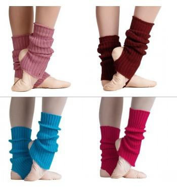 Calentadores lana de estribo cortos