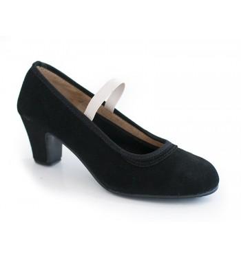 Zapato flamenco ante elástico