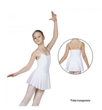 Savanah Maillot de algodon con falda