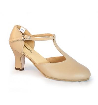 Zapato cerrado piel