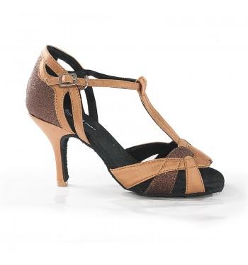 Sandalia latina gliter