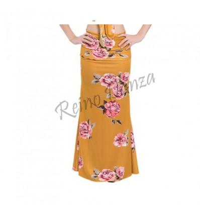 Falda flamenco cola de sirena
