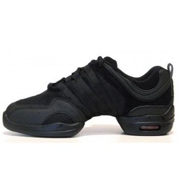 Sneakers Tutto Nero Suela de Goma