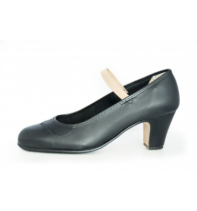 Zapato flamenco semiprofesional eslástico