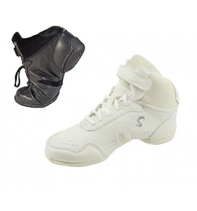 B62L - Sneakers bota piel