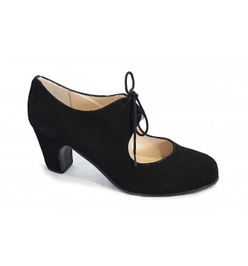 Zapatos de flamenco con cordones basic