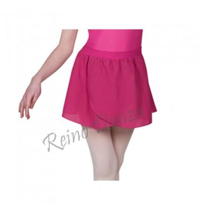 Falda sifón ballet con elastico