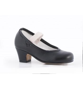 Zapato flamenco gitanilla elastico