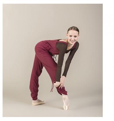 Mono ballet calentamiento