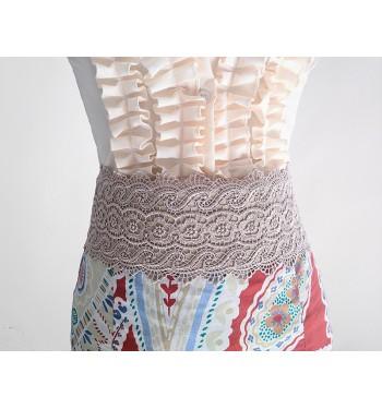 Cinturon flamenco de encaje