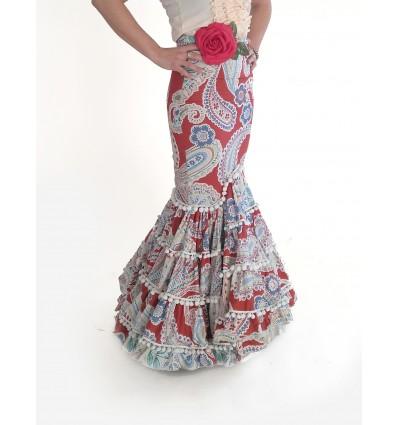 Falda flamenco Canastera Anne