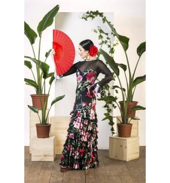 Vestido flamenco Marines.