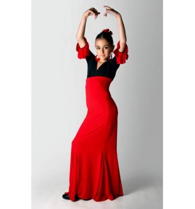 Falda flamenco Ogalla.