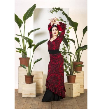 Sobre falda  flamenco Aracena.