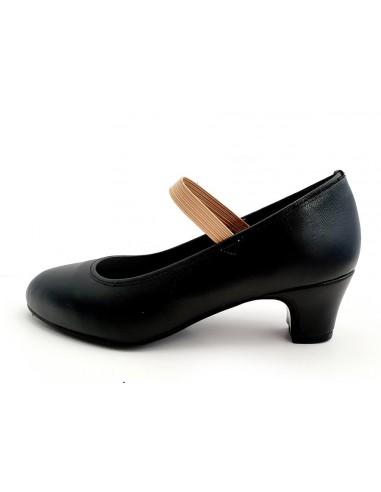 Zapato flamenco niña sin clavos