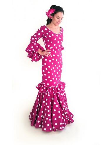 Vestido rociero popelin