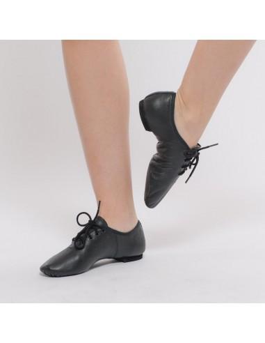 Zapato de cordones suela partida