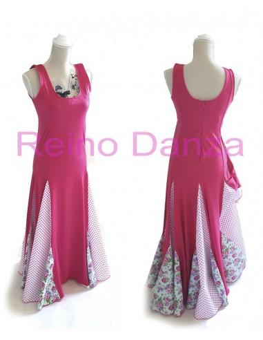 Vestido flamenco de 5 godes