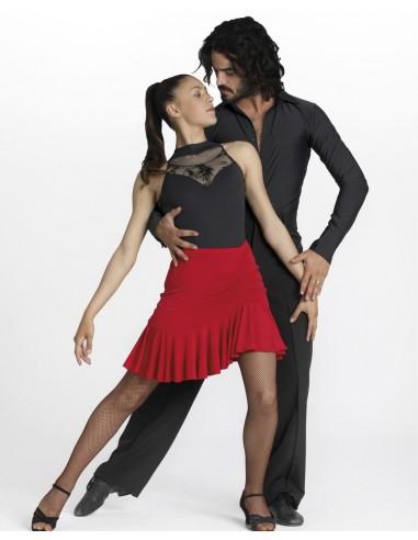 falda de baile latino