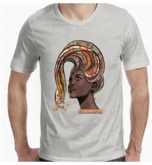 Camiseta rostro mujer