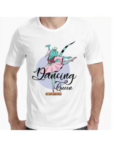 Camiseta tirante ancho iguana