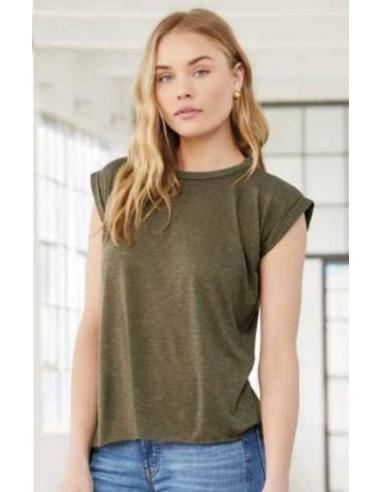 Camiseta mangas vueltas