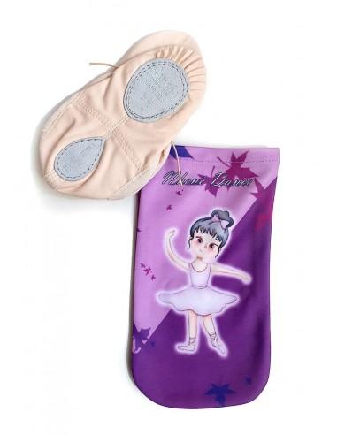 Funda zapatillas de ballet infantil