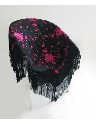 Mantón flamenca cuadrado