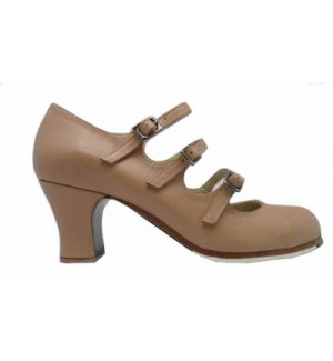 Zapato flamenco profesional 3 correas