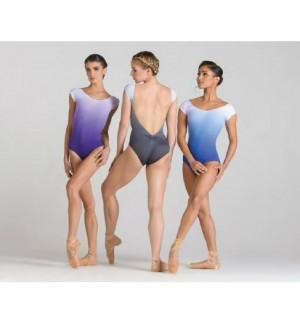 Maillot de ballet manga corta