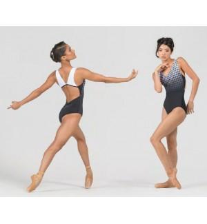 Maillot de ballet tirante ancho
