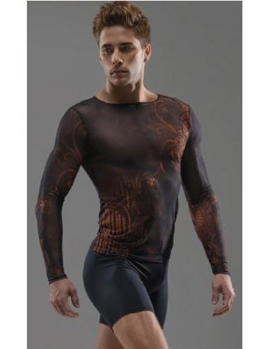 Camiseta de microtul elastica
