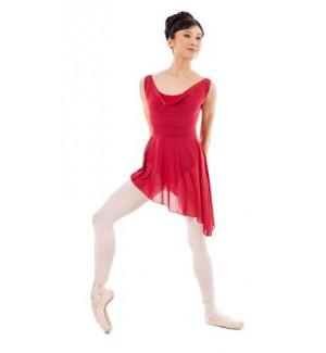 Vestido asimétrico de ballet