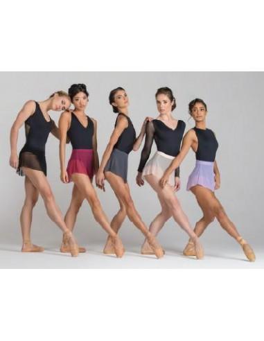 Falda de ballet corta