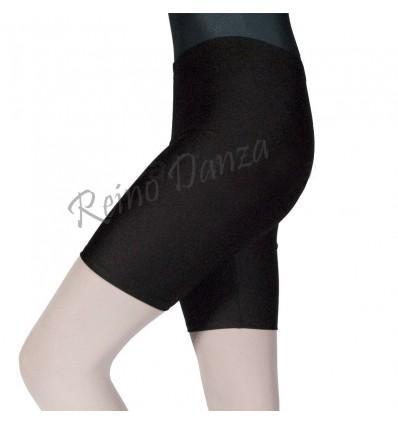 Pantalon de algodon a medio muslo