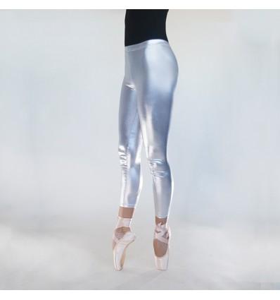Pantalon vinilo metalizado
